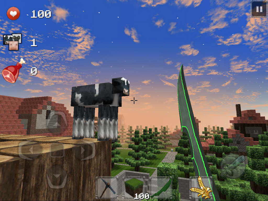 App shopper medieval craft town building games for Crafting and building app store