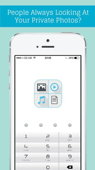 Secret Photo Vault - Flo Box Private Photo + Video Folder Manager