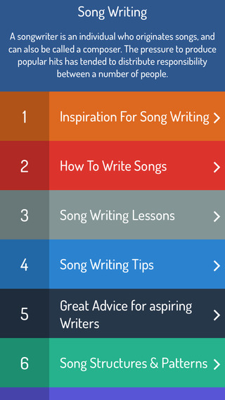 How To Write Song