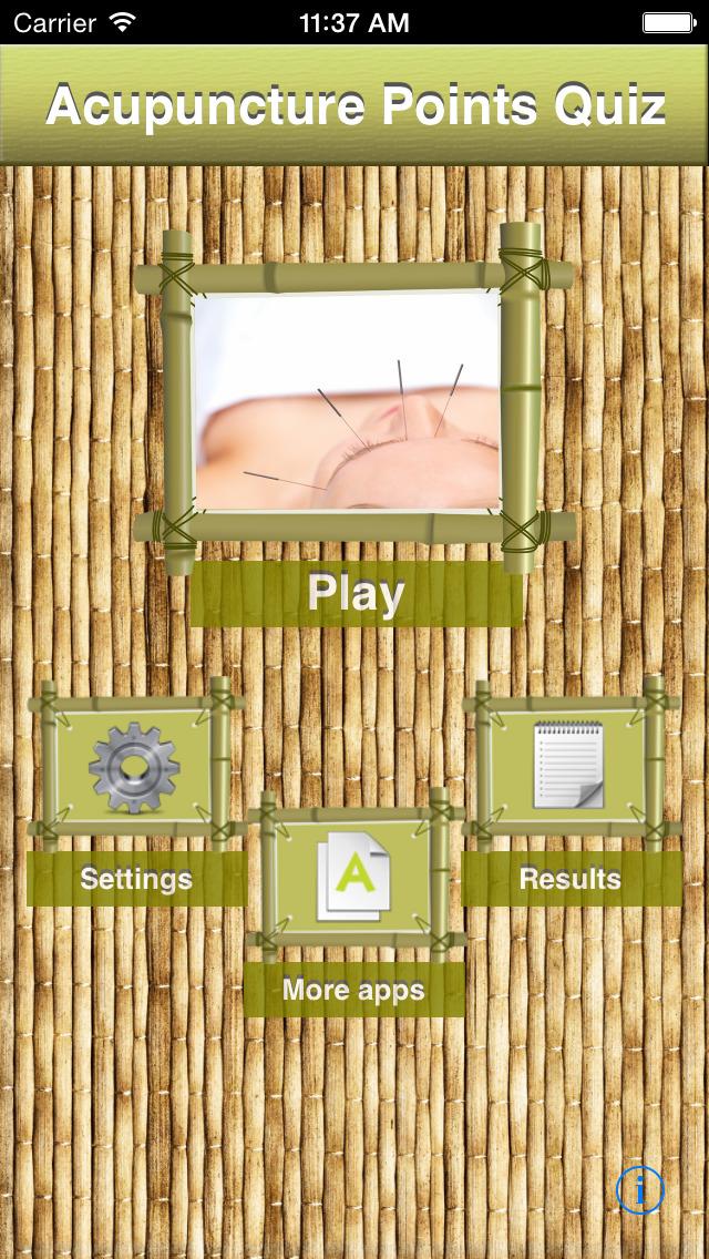 Acupuncture Points Quiz screenshot 1