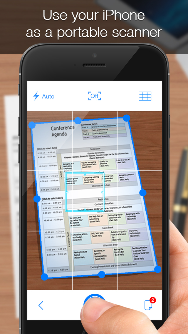 iScanner – Free Mobile PDF Scanner to Scan Documents, Receipts, Biz Cards, Books