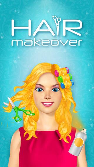 Hair Makeover - Salon Games for Girls