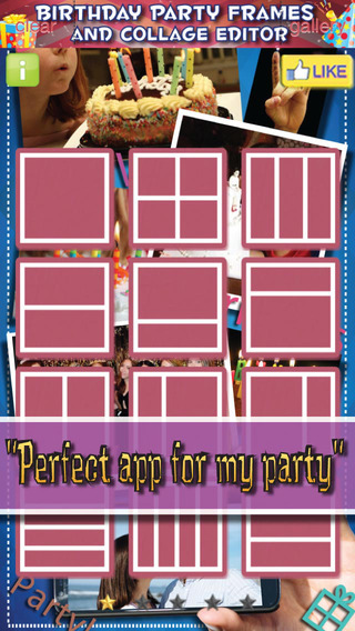 Happy Birthday Photo Frames - Party Picture Celebration Collage Editor FREE APP