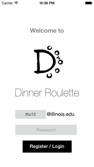 Dinner Roulette