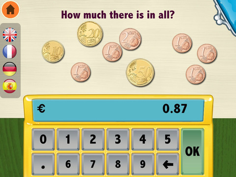 Moca Learning Money Euro€