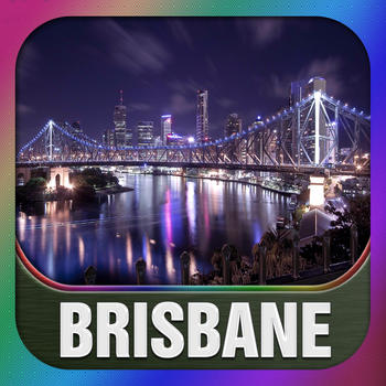 Brisbane City Offline Guide LOGO-APP點子