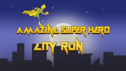 Amazing Super Hero City Run - best running adventure game