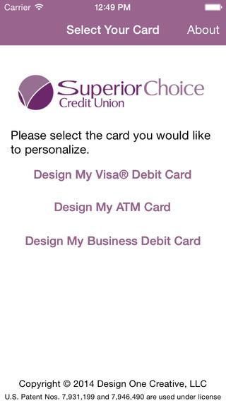 Superior Choice CU Card Customizer