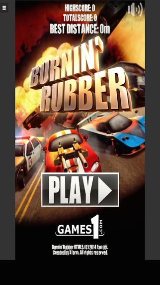 Burnin Rubber - New Racing Game