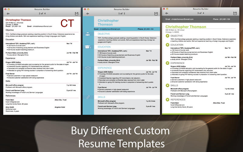 Iwork Resume Templates. 18+ One Page Resume Template - Ai