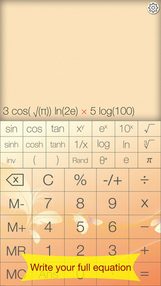 Advanced Calculator - Pretty Simple Functional