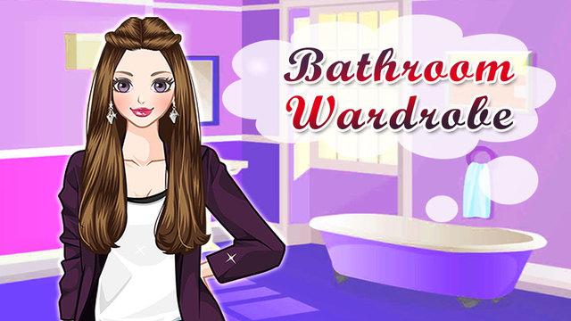 Bathroom Wardrobe - Dress up game for little ladies