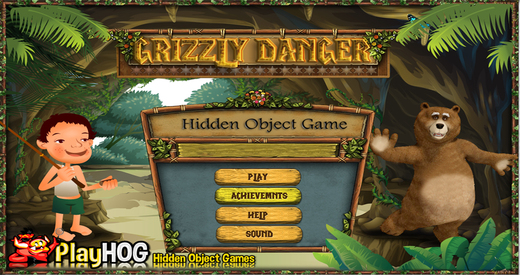 Grizzly Danger - Free Hidden Object Games