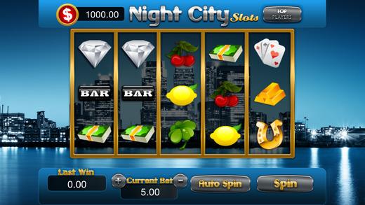 AAA Night City Slots Classic Jackpot Party Vegas - Free Bonanza Mania Luck Game