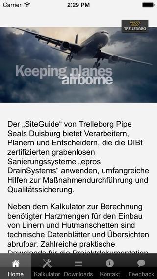Trelleborg SiteGuide German