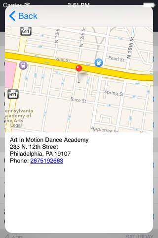 Art In Motion Dance Academy screenshot 3