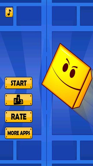 A Amazing Geometry Bricks Jump - Fun Shapes