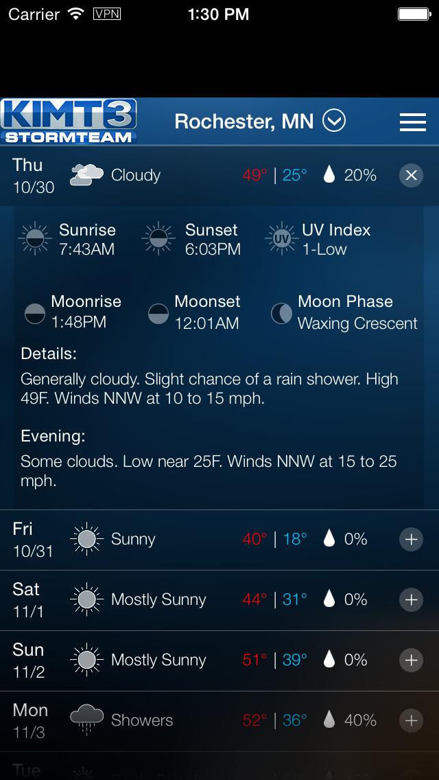 KIMT Weather - Radar & Forecasts