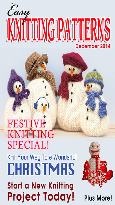 Easy Knitting Patterns Magazine - Learn How To Knit and Start a Wonderful New...
