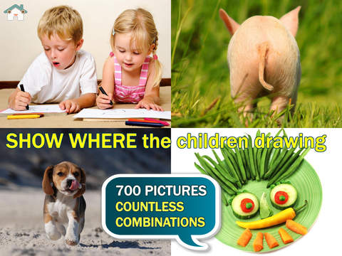 Show me the picture FREE Developmental games for toddlers and children: first words and pictures