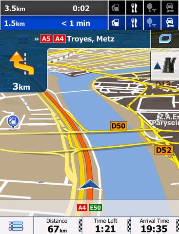 europe navigation app