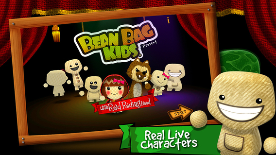 小红帽:Bean Bag Kids present: Little Red Riding Hood