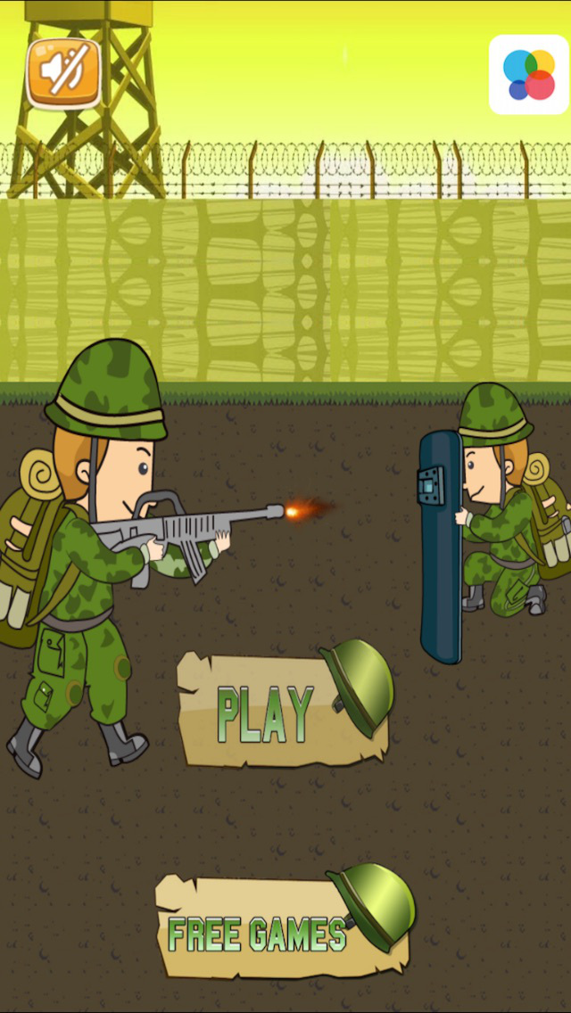 A Army Bullet Warfare - Win The Heavy Weapons Fighting In The Military
