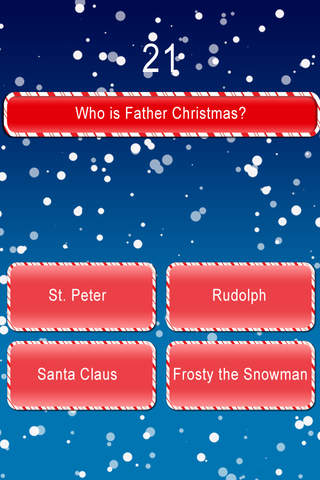 Screenshot 2 Christmas Time Trivia FREE: A Family Winter Time Christmas Game