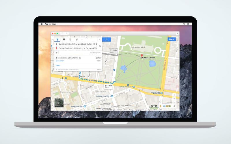 App for Google Maps Screenshot - 4