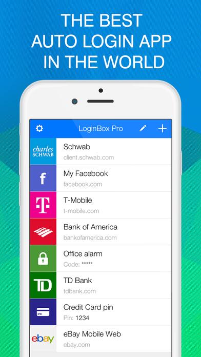 LoginBox Pro Screenshot