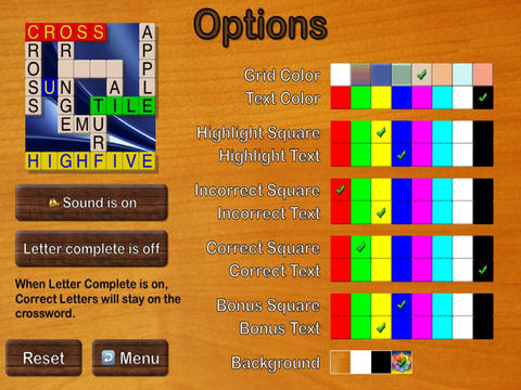 Crossword Puzzles HD - by Boathouse Games screenshot
