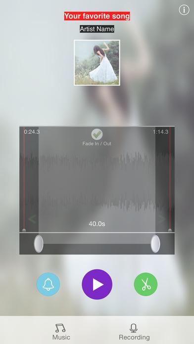Ringtone DIY iPhone Screenshot 2