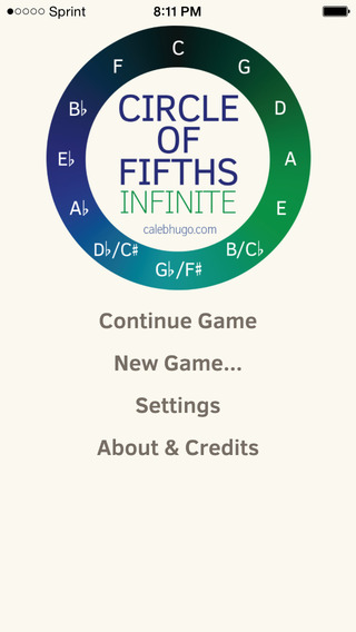 Circle of Fifths - Infinite