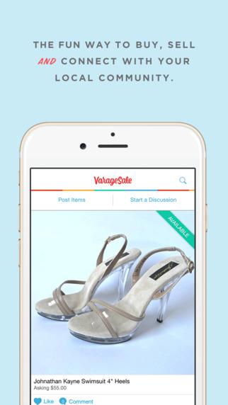 VarageSale: Virtual garage sale app to buy sell with your neighborhood