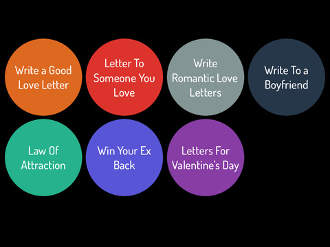 Online love letter writing