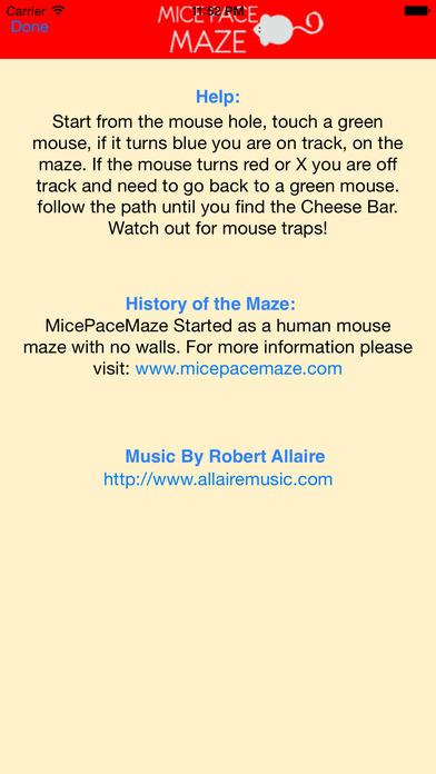 MicePaceMaze Squares iPhone Screenshot 3