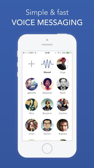 Waved Messenger - Free Voice Messaging