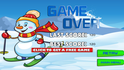Frozen Snowball Drop - Awesome Catching Rescue Game