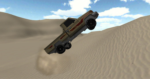 Climbing Sand Dune كنق التطعيس