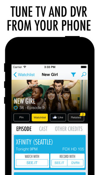 BuddyTV Guide for Netflix HBO GO Amazon Hulu Crackle and More: Movie TV Listings with Remote Control
