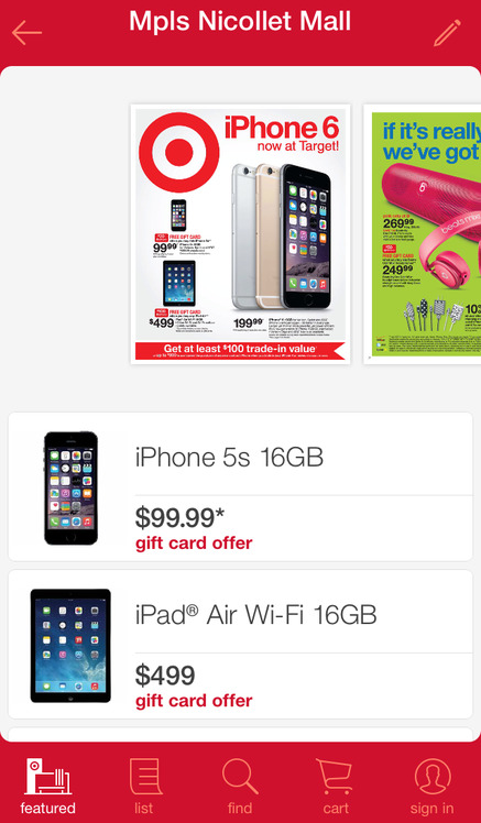 Target - iPhone Mobile Analytics and App Store Data