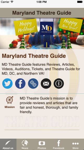 Maryland Theatre Guide