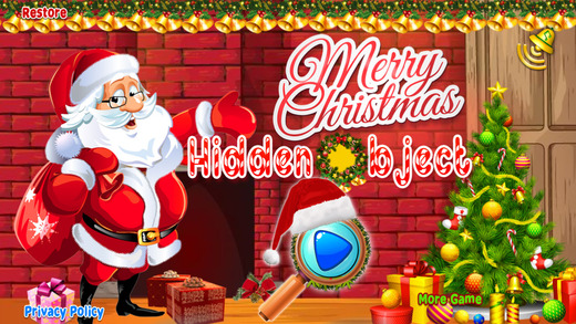 Merry Christmas Hidden Objects The Kids Adventure