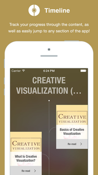 Creative Visualization book with audio