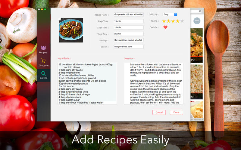 Recipes Screenshot - 4