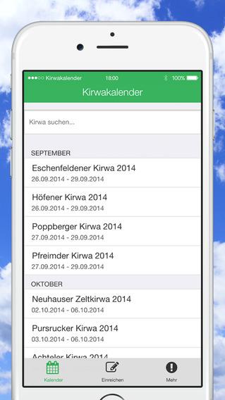 Kirwakalender - Kirwa-Gemeinde.de