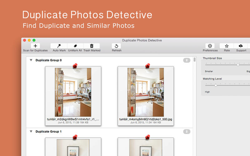 how to delete duplicate photos on mac photos app