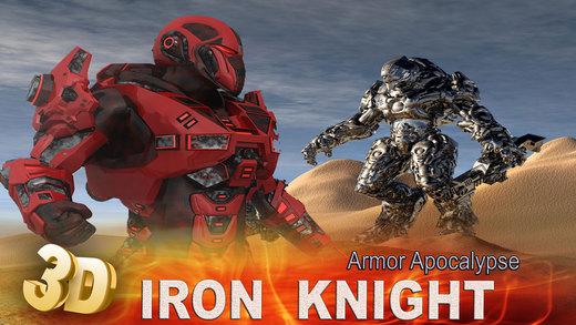 Iron Knight Armor Apocalypse - An epic 3D super hornet armored battlefield