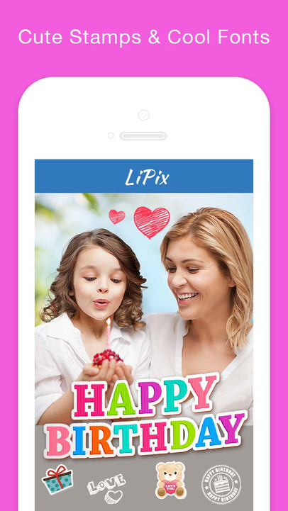 LiPix - Photo Collage, Picture Editor, Pic Effects Editing for Instagram formerly InstaFrame - iPhone Mobile Analytics and App Store Data