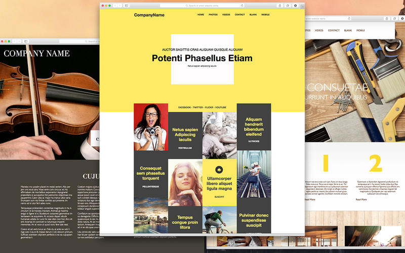 Bundle For Everweb Themes And Templates For Website